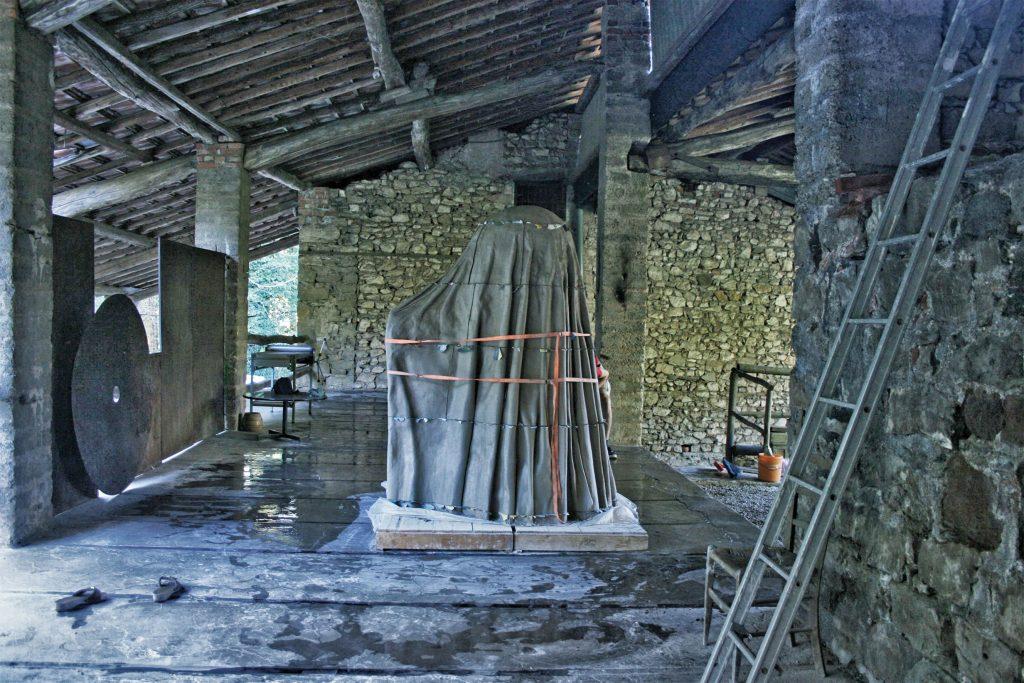 Tuchofen, shrouded furnace, Kachelofen, Marie Filippa Janssen, tiled stove, Vienna, Wien